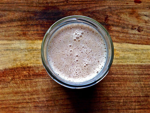 Raspberry Oatmeal {Cookie} Breakfast Smoothie
